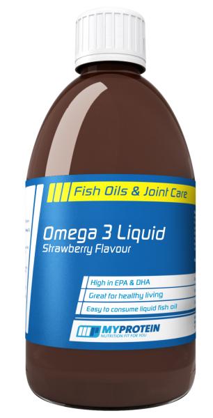 Omega 3 Liquid von Myprotein