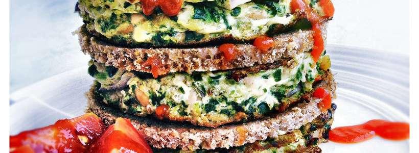 Rezept: Thunfisch Omelette Burger