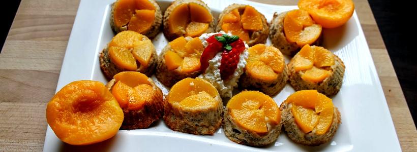 Upside-Down-Käsekuchenmuffins