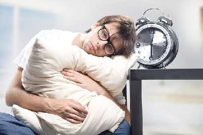 Minimalistisches Schlafen