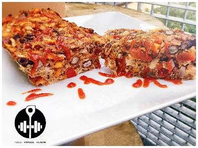 Rezept: High Protein Pizza-Auflauf