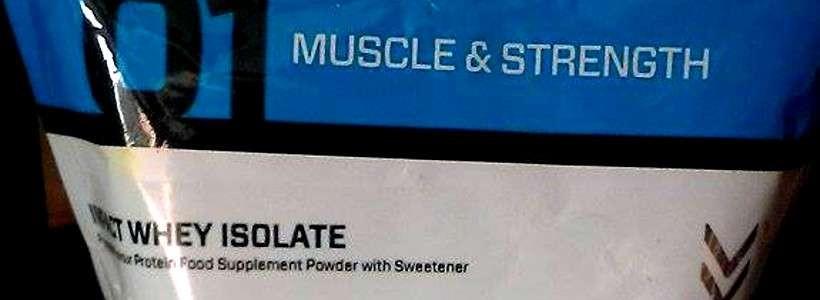 Review: Impact Whey Isolat von Myprotein im Test