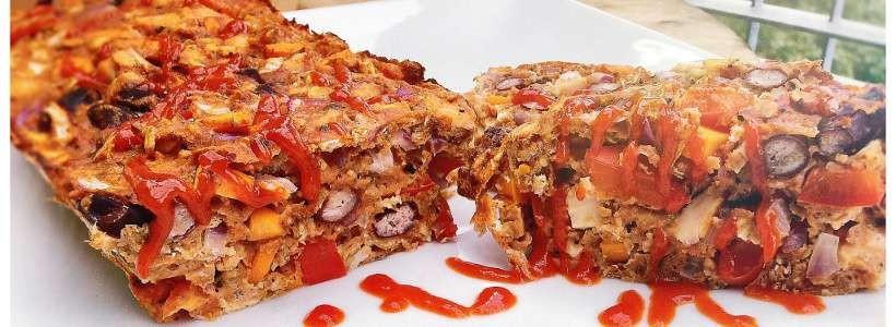 High Protein Pizza-Auflauf