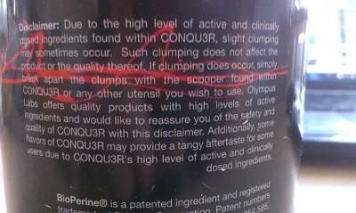 Review: CONQU3R Demigod Edition von Olympus Labs im Test