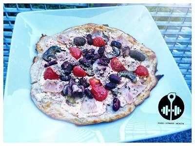 Protein Flammkuchen | Fitness Rezept