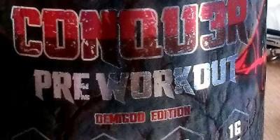 Review: CONQU3R Demigod Edition (stim free) von Olympus Labs im Test