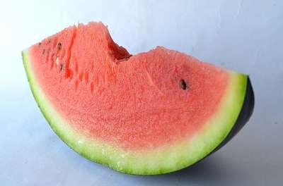 Wassermelone enthält von Natur aus Citrullin