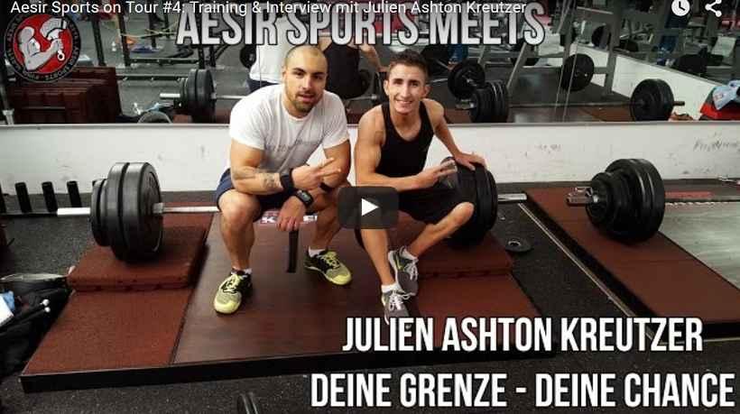 Aesir Sports on Tour #4: Training & Interview mit Julien Ashton Kreutzer