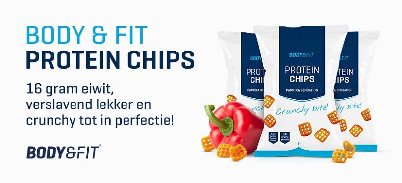 Review: Protein Chips von Body & Fitshop im Test