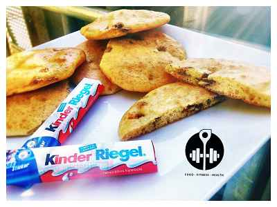 Rezept: Kinderriegel Cookies