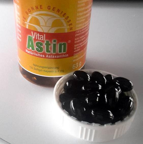 Vital Astin (natürlicher Astaxanthin-Extrakt) - Jetzt im Aesir Sports Shop erhältlich!