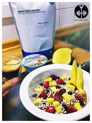 Rezept: Frühstücks-Eiweißbombe