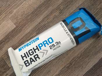 Review: High Pro Bar von Myprotein im Test