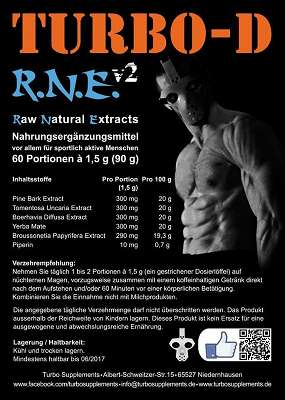 Review: Raw Natural Extracts – R.N.E. v2 von Turbo-D im Test
