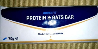 Review: Protein & Oats Bar von Body & Fitshop im Test