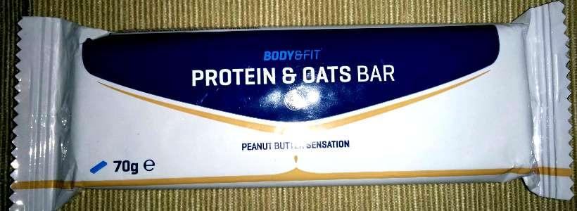 Review: Protein & Oats Bar von Body & Fitshop im Test