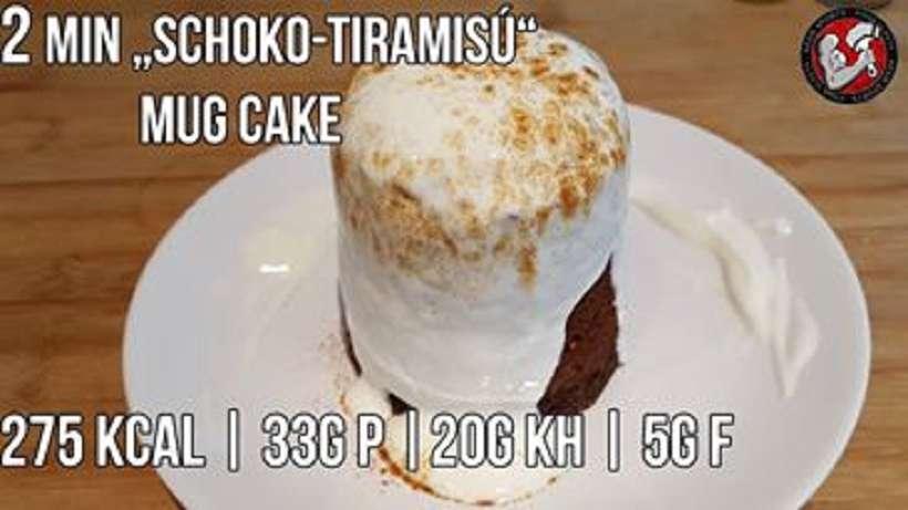 Rezept: Schoko Tiramisu Mug Cake