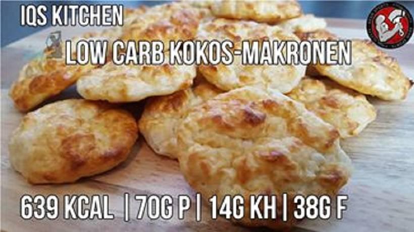 Rezept: Low Carb Kokos-Makronen