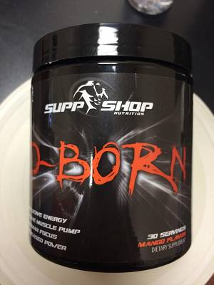 Review: D-Born von Supp-Shop Nutrition im Test