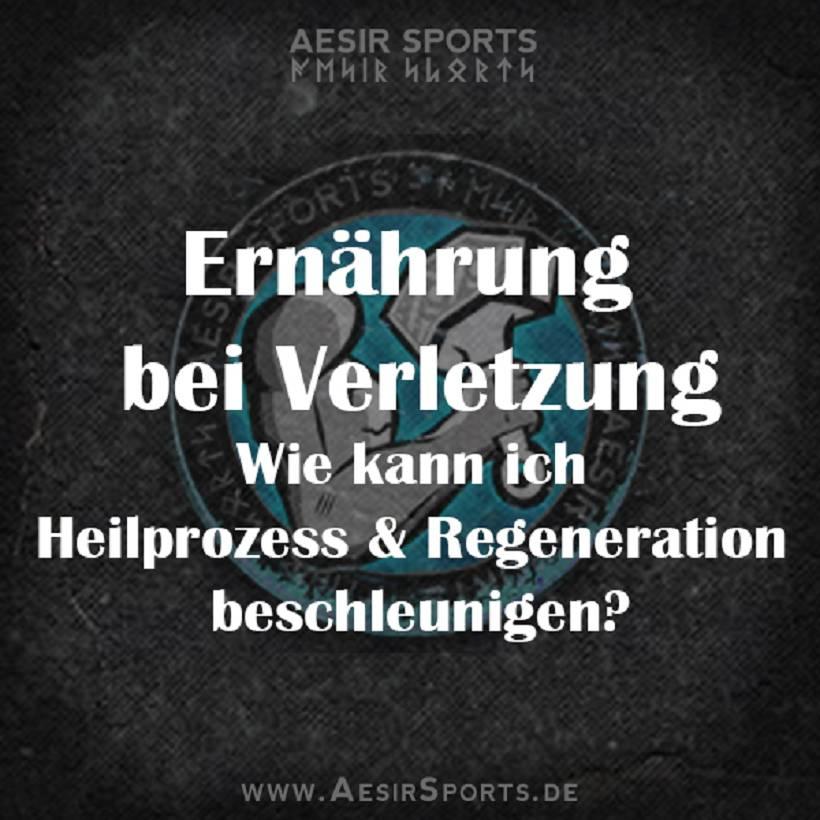 Ernährung bei Verletzung: Heilprozess & Regeneration beschleunigen