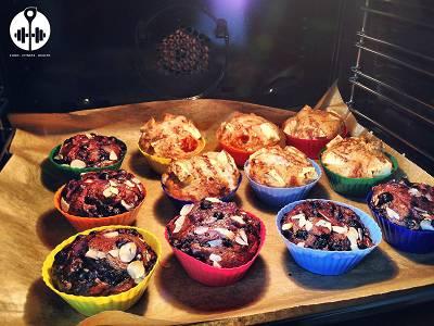 Rezept: Fluffige Apfel Muffins