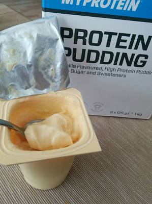 Protein Snack: Protein Pudding Myprotein