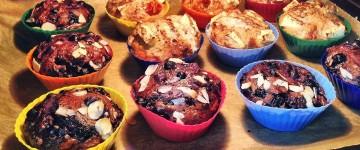Fluffige Apfel Muffins