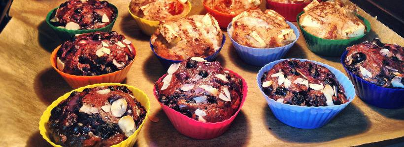 Fluffige Apfel-Muffins