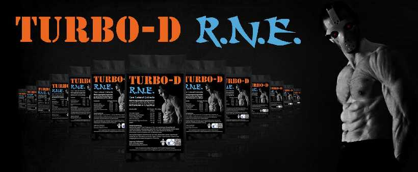 "Natural Pre-Workout Booster ""R.N.E"" von Turbo-D"