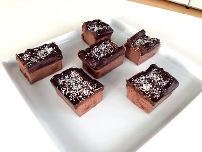 Bananen Brownies   Extra schokoladiges Brownie Rezept