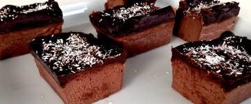 Bananen Brownies | Extra schokoladiges Brownie Rezept
