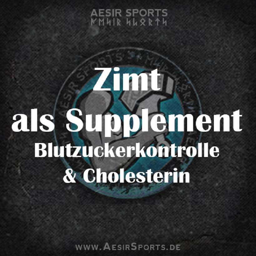 Zimt als Supplement - Blutzuckerkontrolle & Cholesterin