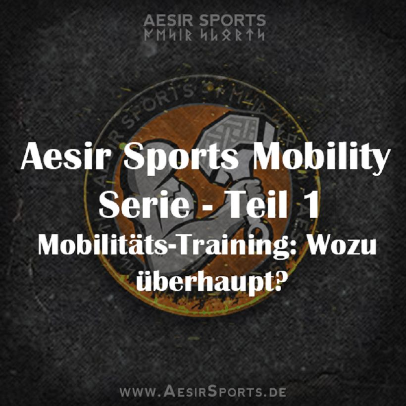 Aesir Sports Mobility Serie - Teil 1: Mobilitäts-Training - Wozu überhaupt?