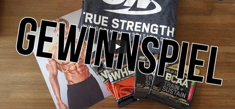 Gewinnspiel: Gewinne 1 von 2 Optimum Nutrition Packages