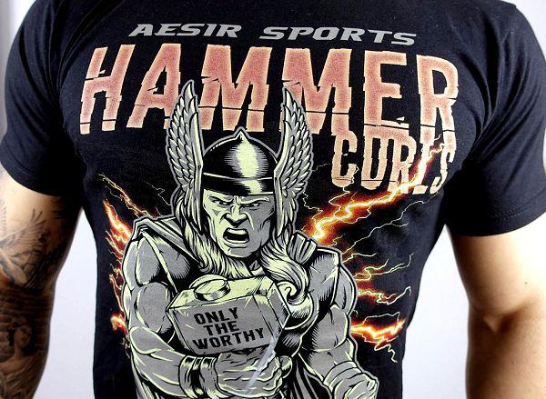 Das neue Shirt & Tank Top Motiv: Are You Worthy?! Jetzt im Aesir Sports Shop verfügbar!