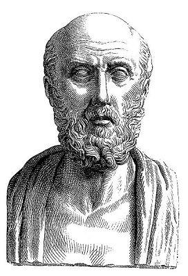 Hippocrates von Kos: (Bildquelle: Wikimedia ; Public Domain)