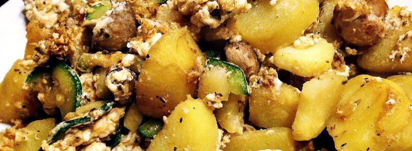 Bratkartoffeln   Einfaches Beilagen Rezept