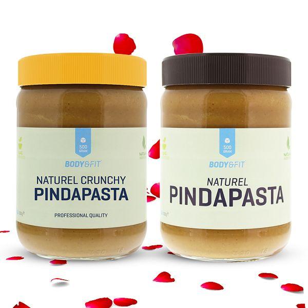 1 kg natürliche Erdnussbutter (Crunchy + Smooth) ohne Zusätze für zusammen 4,50 €!