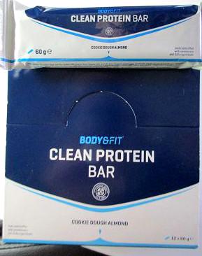 Clean Protein Bar - Aufmachung