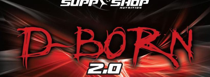 Review: D-Born 2.0 von Supp-Shop Nutrition im Test