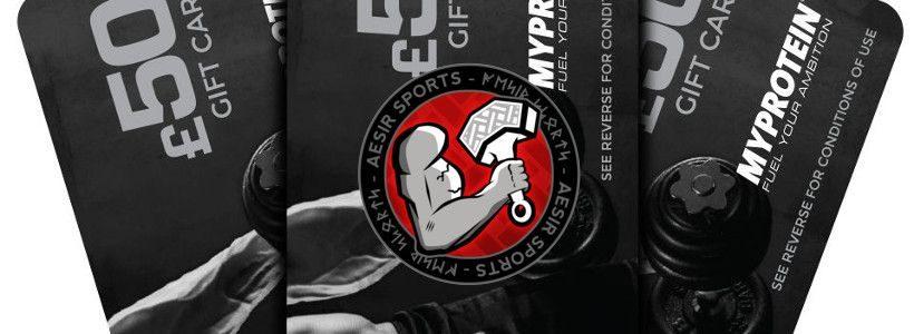 Gewinnspiel: Wir verlosen einen 50 € Myprotein Gutschein