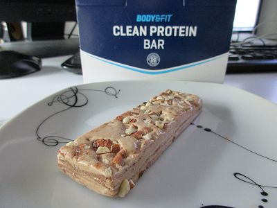 Review: Clean Protein Bar von Body & Fit im Test