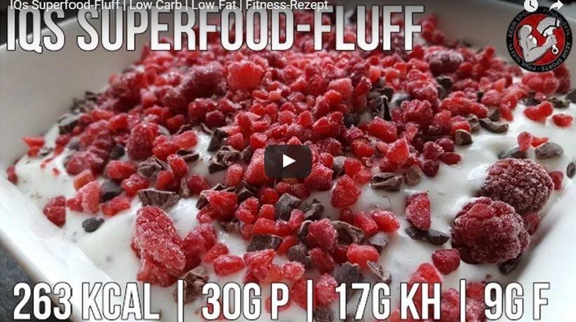 Superfood Protein Fluff | Kalorienarmer Sattmacher