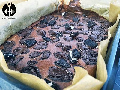 Oreo Brownies | Protein Snack Rezept
