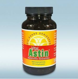 Astaxanthin Extrakt - stärkstes natürliches Antioxidans. Erhältlich im großen Vorteilspack (300 Kapseln)