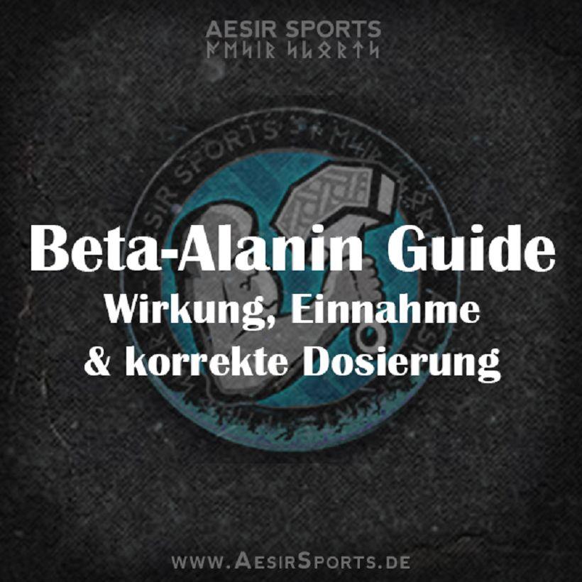 Der Beta-Alanin Guide: Wirkung, Einnahme & Dosierung