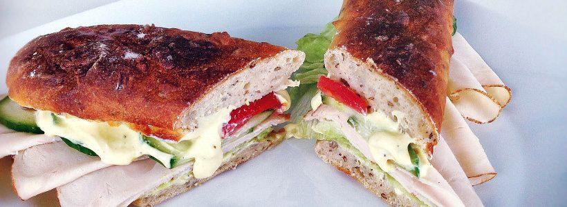 Selbstgemachtes Subway Sandwich   Snack 2 Go