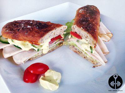 Selbstgemachtes Subways Sandwich   Snack 2 Go