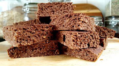 Schoko-Kokos Brownies | Gesunde Protein Brownies