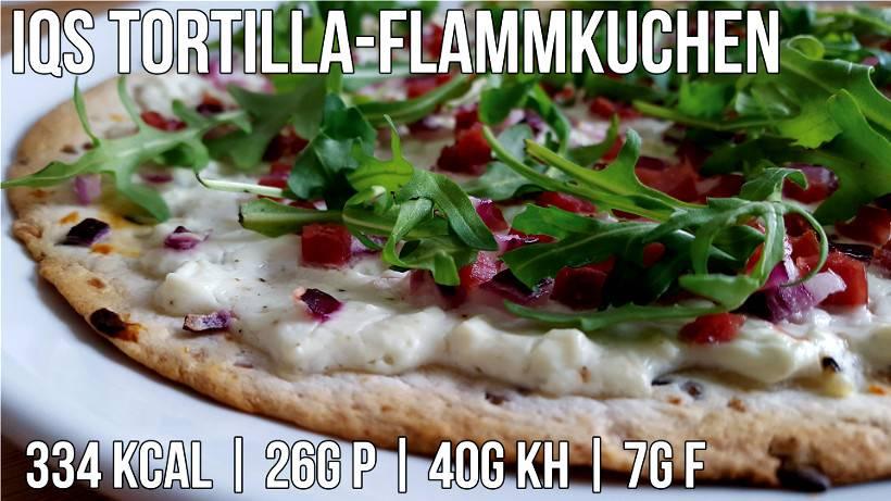 Tortilla Flammkuchen | Wenns schnell gehen muss!
